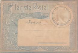 SOBRE PARA ENVIO DE TARJETA POSTAL, CIRCA 1900's. ENVELOPE TO SEND POSTALCARDS. ROMANTICA ROMANTIC ROMANTIQUE -LILHU - Matériel