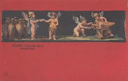 POMPEI - CASA DIE VETTII, Engel, Alte Künstlerkarte Ungelaufen - Engel