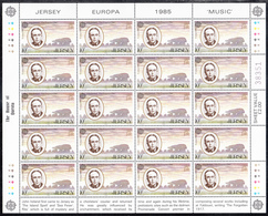 JERSEY  Michel  347/49  ** MNH  FULL SHEET - Jersey