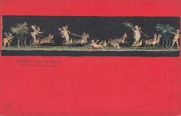 POMPEI (2) - CASA DIE VETTII, Engel, Alte Künstlerkarte Ungelaufen - Engel