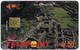 PERU :  S/50 Machu Pichu 3 USED DUMPING - Pérou