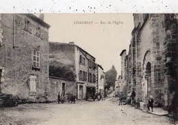 CHAURIAT RUE DE L'EGLISE - Francia