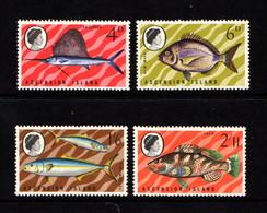 ASCENSION    1969    Fish  ( 2nd  Series )    Set  Of  4    MNH - Ascension