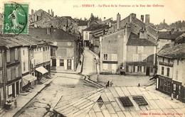 MEUSE - STENAY - Place De La Fontaine Et Rue Des Orfèvres - 1913 - Stenay