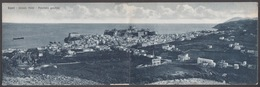 Italia - LIPARI, Panorama Generale, Cartolina Doppia - Messina