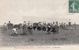 CPA - 27 - LE NEUBOURG - Ecole Pratique D'agriculture - La Moisson - Belle Animation - Le Neubourg
