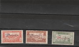 Liban Yvert PA 92 + 93 + 95 Neufs  - Petits Défauts - 2 Scan - Poste Aérienne