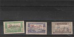 Liban Yvert PA 91 + 94 + 96 Neufs  - Gros Défauts Rouille - 2 Scan - Poste Aérienne