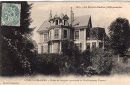 B65012 Cpa Luxeuil -  Chalet De Perpigna - Luxeuil Les Bains