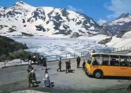 Schweizer Postbus,Grimsel-Passhöhe, Ungelaufen - Bus & Autocars
