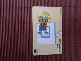 Phonecard The Simpsons Used Low Issue Rare - BD