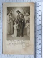 Image Religieuse - Communion Marcel BOTTEX - Chapelle De L'Hôpital René Sabran - Giens (Var 1935) - Images Religieuses