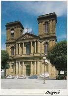 BELFORT - La Cathédrale - Voiture : Renault 4 L - Citroen - - Belfort - Ciudad
