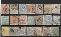 España. Conunto De 37 Sellos Clásicos Usados Con Valor De Catalogo De 249 Euros - Used Stamps