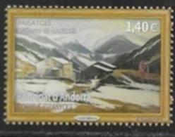 SPANISH ANDORRA, 2019, MNH, LANDSCAPES, MOUNTAINS, MOLLERES, 1v - Other