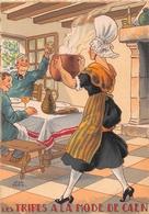 Illustrateur Jean PARIS - M. Barré & J. Dayez - Recette -  Les Tripes à La Mode De Caen -  N° 1418 S - Andere Illustrators