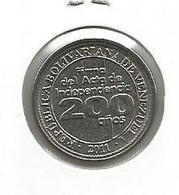 Venezuela 25 Centimos 2011. UNC 200th Anniversary Of Signing Of The Verbal Independence - Venezuela