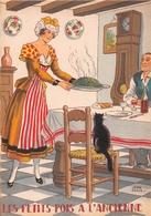 Illustrateur Jean PARIS - M. Barré & J. Dayez - Recette -  Les Petits Pois à L'ancienne -  N° 1419 F - Andere Illustrators