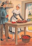 Illustrateur Jean PARIS - M. Barré & J. Dayez - Recette -  Les Tomates Farcis -  N° 1419 H - Andere Illustrators