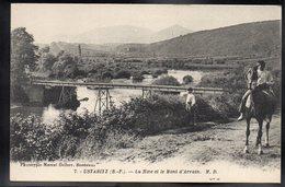 USTARITZ 64 - La Nive Et Le Mont D'Arrain - Frankreich