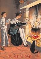 Illustrateur Jean PARIS - M. Barré & J. Dayez - Recette - Le Riz Au Gras -  N° 1419 E - Andere Illustrators