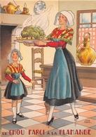 Illustrateur Jean PARIS - M. Barré & J. Dayez - Recette - Le Chou Farci à La Flamande -  N° 1419 P - Andere Illustrators