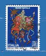 Italia °- 2018 - NATALE LAICO. Usato - 6. 1946-.. República