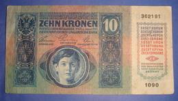 AUSTRIA 10 KRONEN, 1915 VF 1090 - 362191 - Austria