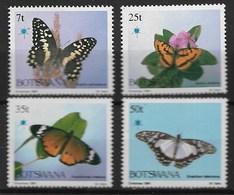 BOTSWANA 1984 BUTTERFLIES - Butterflies