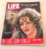 LIFE International Juin 1966 Conquète Spatiale Saturn 5 Gémini 9 Surveyor,Elisabeth Taylor Virginia Woolf,Yougoslavie - Revues & Journaux