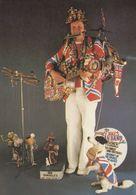 Shakey Shaky Jake Ann Arbor Michigan Street Xylophone Musician Postcard - Cartes Postales