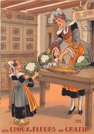 Illustrateur Jean PARIS - M. Barré & J. Dayez - Recette - Les Choux Fleurs Au Gratin -  N° 1419 U - Andere Illustrators