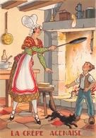 Illustrateur Jean PARIS - M. Barré & J. Dayez - Recette - La Crèpe Agenaise -  N° 1420 B - Andere Illustrators