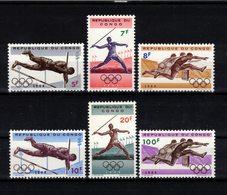CONGO   Timbres Neufs ** De 1964  ( Ref 6865 ) Sport - Jeux Olympiques Tokyo - Republik Kongo - Léopoldville (1960-64)