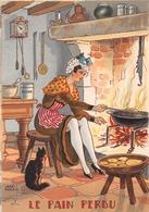 Illustrateur Jean PARIS - M. Barré & J. Dayez - Recette - Le Pain Perdu - N° 1420 D - Andere Illustrators