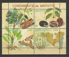 MAYOTTE  2008  SPICES,CONDIMENTS  SHEET  MNH - Non Classés