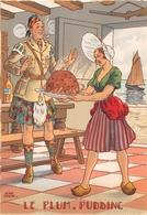 Illustrateur Jean PARIS - M. Barré & J. Dayez - Recette - Le Plum-pudding - N° 1420 N - Andere Illustrators