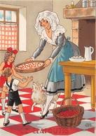 Illustrateur Jean PARIS - M. Barré & J. Dayez - Recette - Le Clafoutis - N° 1420 Z - Andere Illustrators