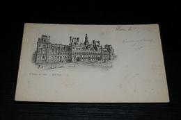 10058             PARIS, L'HOTEL DE VILLE - 1897 - Francia