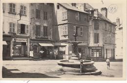 12 SAINT GENIEZ D'OLT Place Du Marché (Cliché Original) - Frankreich