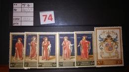 Timbres Anciens Vendus à 20% De La Valeur Catalogue COB 1102/1107** - Belgique