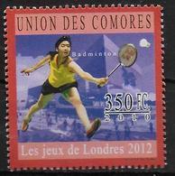 COMORES   N° 2018 * *  Jo 2012  Badminton - Badminton