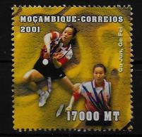 MOZAMBIQUE    N° 1571 * *  (cote 3.75e )  Badminton - Badminton