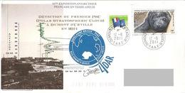 TAAF - 61ème Expédition Terre Adélie - Dumont D'Urville - Détection Du Premier PSC - Brieven En Documenten