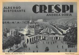 Genova - Via Andrea Doria - Albergo Ristorante CRESPI Andrea Doria - Genova (Genoa)