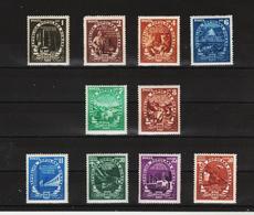 1951 -  Plan Quinquennal Mi No 1276y/1287y Et Yv No 1168/1177 ( Wz 10) - Nuovi