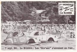2CV 1985 Courses De 2cv Citroen 44 Chateaubriant La Blisière  Cp2 - Voitures De Tourisme
