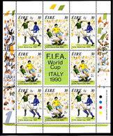 Soccer World Cup 1990 - IRELAND - Sheet MNH - Coppa Del Mondo