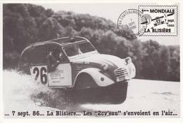 2CV 1985 Courses De 2cv Citroen 44 Chateaubriant La Blisière  Cp4 - Voitures De Tourisme