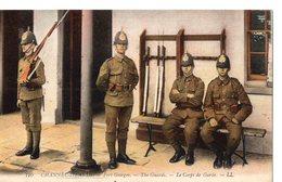 110 - CHANNEL-ISLANDS - Fort George - The Guards - Le Corps De Garde - Regiments